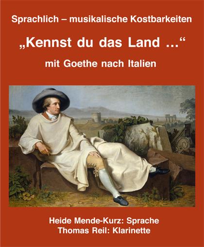 Goethe Plakat Hiede Mende-Kurz