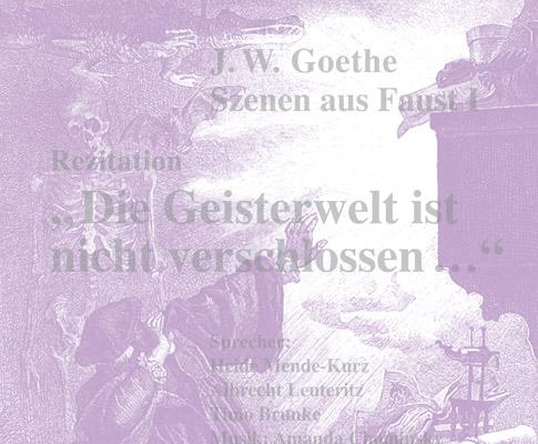 Rezitation Szenen aus Faust I