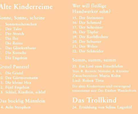 Alte Kinderreime/Das Trollkind